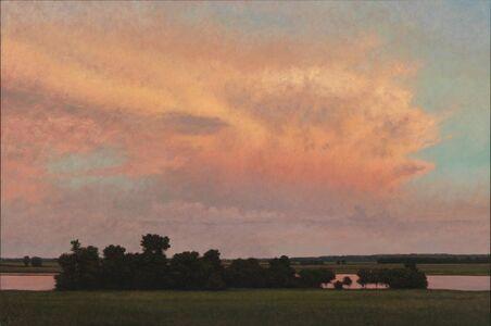 Jeff Aeling, 'Thunderstorm Near Alton, IL', 2014