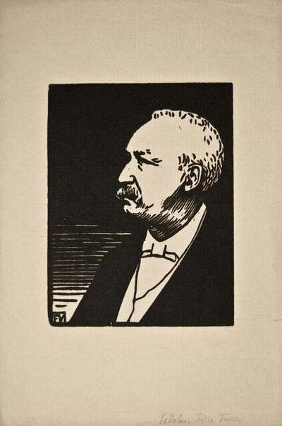 Félix Vallotton, 'Portrait of Felix Faure', Early 20th Century