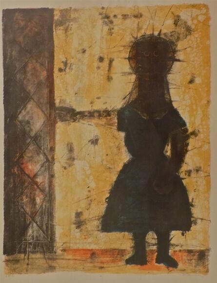 Rufino Tamayo, 'Nina A La Puerta ( Girl At the Door)', 1960