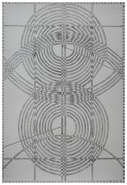 Christopher Squier, 'Strange and unadorned: wave interference study no. 11 (framed)', 2020