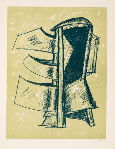 Seymour Lipton, 'A Group of Three Works: Study of Sculpture I, Study of Sculpture II, and Study of Sculpture III', 1969