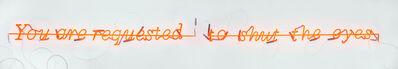 "Joseph Kosuth, '""Zero & Not #14 "" (Freud series)', 1987"