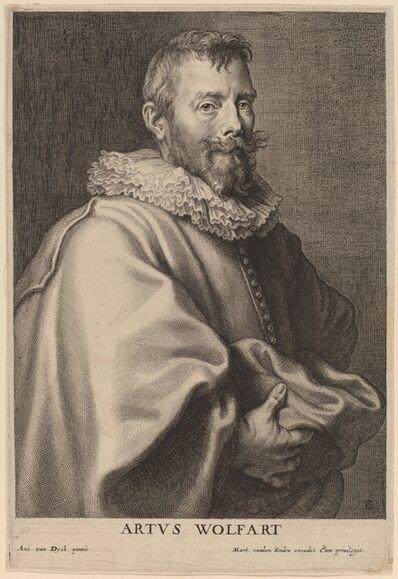Cornelis Galle I after Sir Anthony van Dyck, 'Artus Wolfart', probably 1626/1641