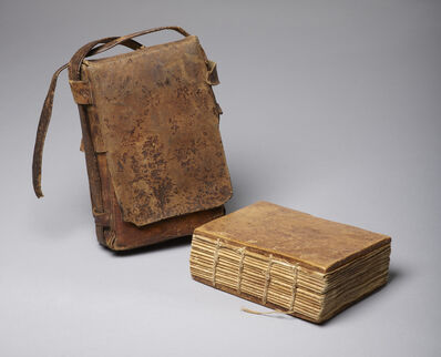 Unknown Artist, 'Codex of Psalter and other texts with satchel', Ethiopia-18th century AD