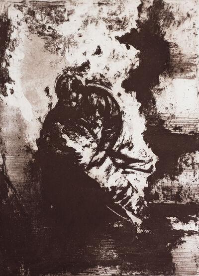Sidney Goodman, 'Burning', 1986