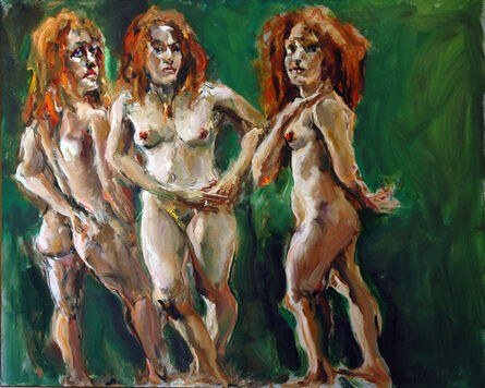 Raoul Middleman, 'The Three Graces', 2009
