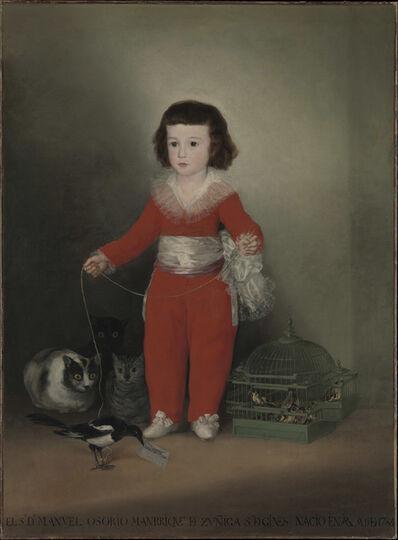 Francisco de Goya, 'Manuel Osorio Manrique de Zuñiga', 1788