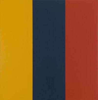 Brice Marden, 'Red Yellow Blue II', 1974