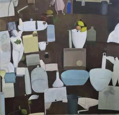 Brian Sayers, 'Still Life with Plaster Casts', 2017