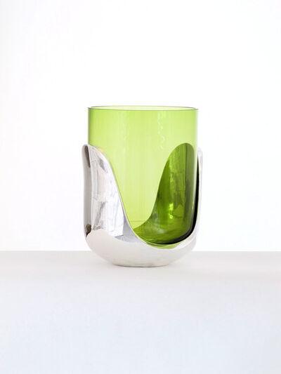 Eric Schmitt, 'Hill Vase in Silver Plated Bronze', 2010