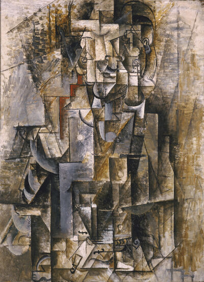 Pablo Picasso, 'Man with a Violin', 1911-1912