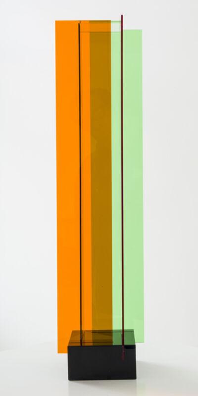 Carlos Cruz-Diez, 'Transchromie B á quatre éléments', 1965-2010