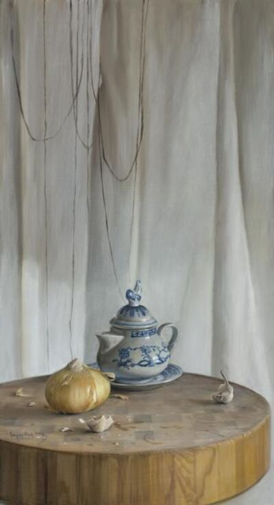 Gregory Block, 'Onion and Teapot', 2014