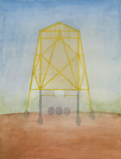 Mark Mack, 'Folly for Vintners in the Napa Valley, Animated section', 1980
