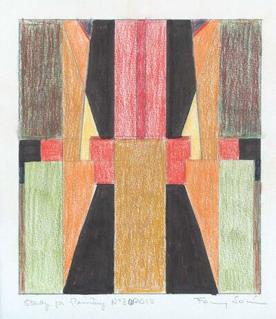 Fanny Sanin, 'Study for Painting No. 3 ', 2010