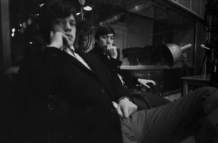 John 'Hoppy' Hopkins, ''Are You Looking at Me?' Mick Jagger and Charlie Watts, London', 1964