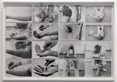 Gina Pane, 'Azione Sentimentale [Sentimental Action]', 1973