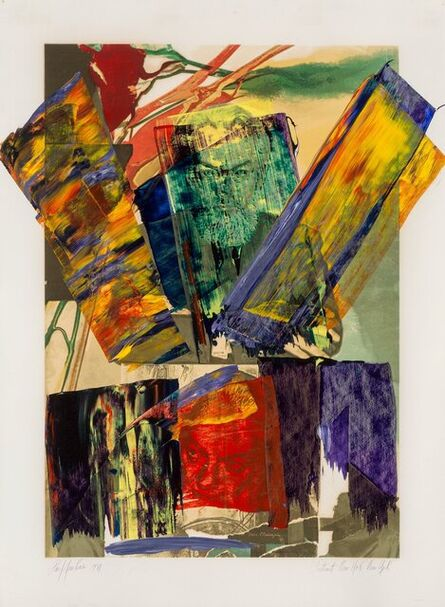 Paul Jenkins, 'Portrait New York New York', 1981