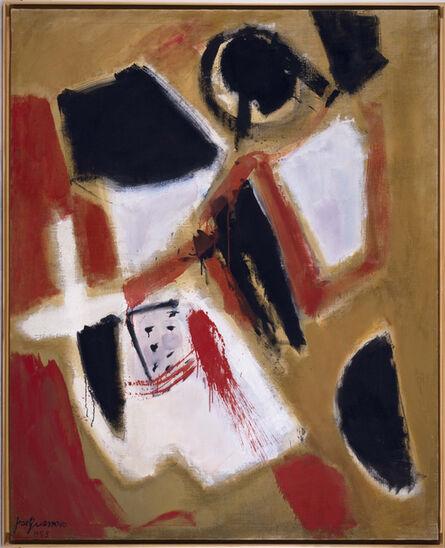 José Guerrero (b. 1914), 'Tierra roja (Red Land)', 1955
