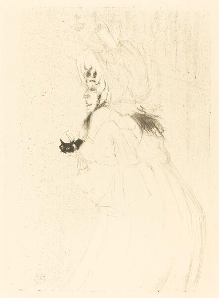 Henri de Toulouse-Lautrec, 'May Belfort Bowing (Miss May Belfort saluant)', 1895
