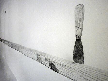 Torsten Richter, 'Untitled drawing (Scrap Lumber) (detail)', 2011