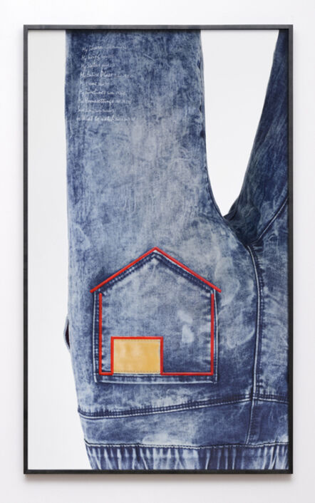 Natalie Czech, 'Jeans/House (from to [icon] )', 2016
