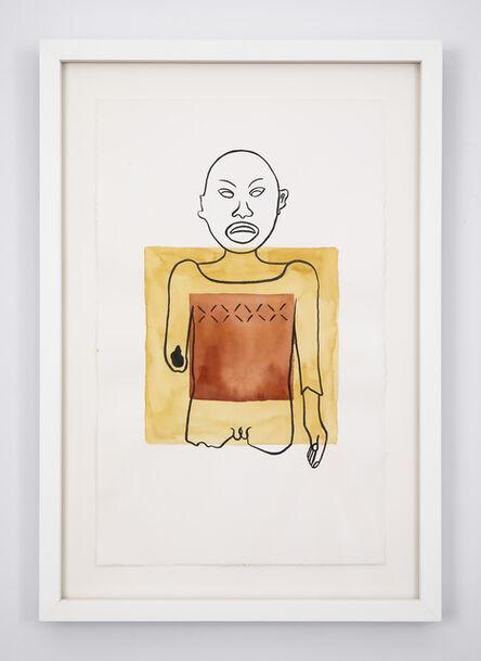 Mariana Castillo Deball, 'Xipe Totec, Art Institute of Chicago I', 2018