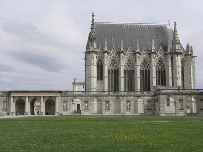 'Saint-Chapelle', 1243-1248