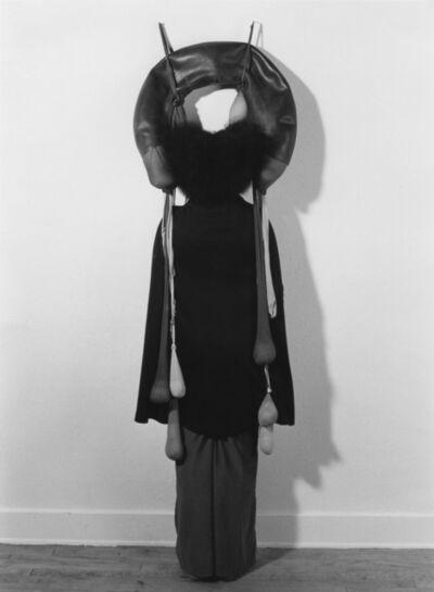 Senga Nengudi, 'Performance with 'Inside/Outside'', 1977