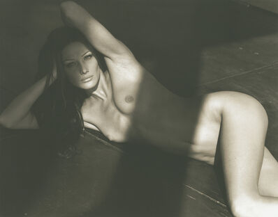 Herb Ritts, 'Carla Bruni (G), Point Dume', 1992