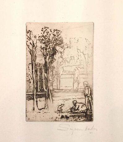 Francis Seymour Haden, 'Three-tree Farm', 1870-1879
