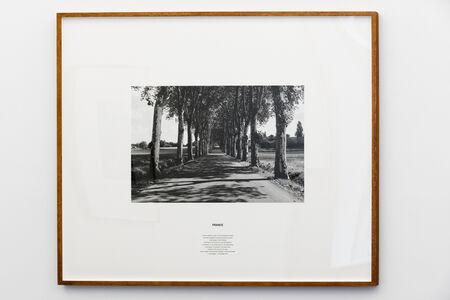 Hamish Fulton, 'France. A 2838 Kilometre Coast to Coast Walking Journey,  Holland, Spain, France, Switzerland, Germany, The Netherlands', 2002