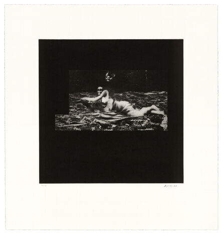 David Lynch, 'Distorted Nude Photogravure #2', 2021