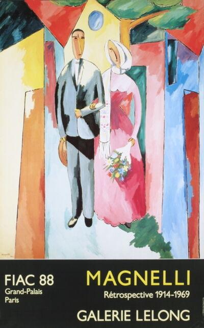 Alberto Magnelli, 'Bride and Groom', 1988