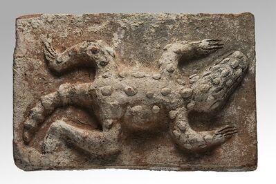 'Brique ornée d'un crocodile (Brick with crocodile decoration)'