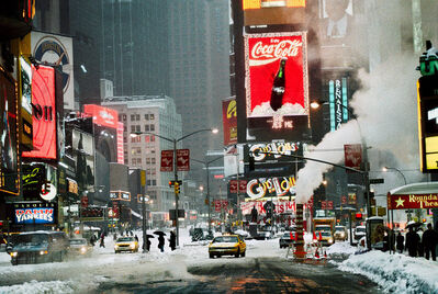 Steve McCurry, 'Times Square in Winter, New York, NY', 1994