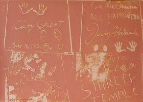Andy Warhol, 'Andy Warhol, 'Sidewalk 304' 1983 Print', 1983