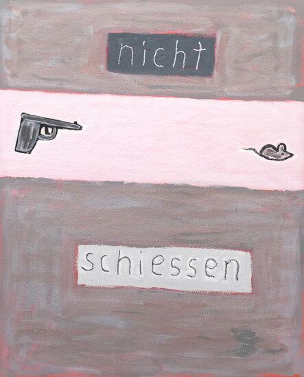 C.O. Paeffgen, 'o.T. (nicht schiessen)', 1989-2000
