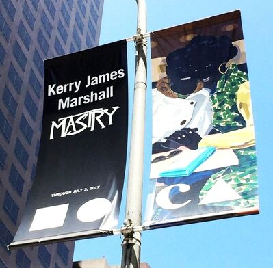 Kerry James Marshall, 'MOCA LA Street Banner (Museum of Contemporary Art, Los Angeles)', 2017