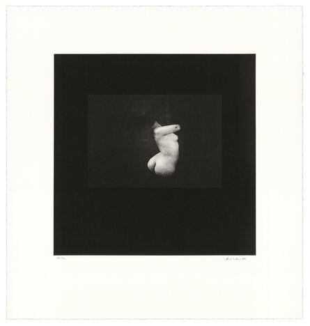 David Lynch, 'Distorted Nude Photogravure #10', 2021