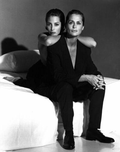 Steven Meisel, 'Lauren Hutton and Christy Turlington', 1991