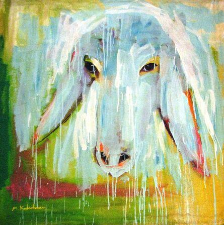 Menashe Kadishman, 'Sheep Portrait'