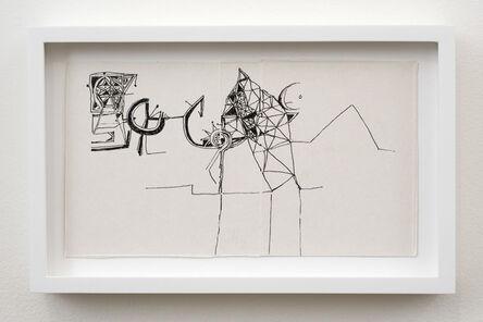 Ibrahim El-Salahi, 'Pain Relief drawing', 2016-2018