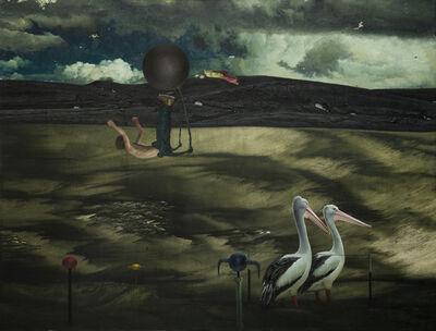 Nashun Nashunbatu, 'Untitled (Man and two birds)', 2014-2016