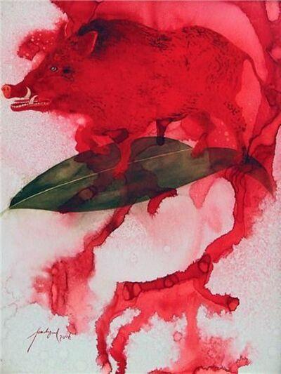 Feridun Oral, 'Red pig', 2007