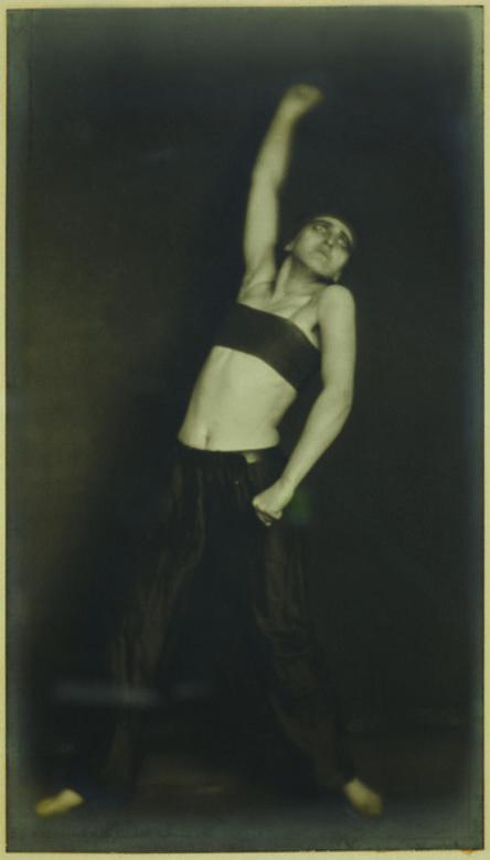 "Germaine Krull, 'Jo Mihaly, danse ""Révolution""', 1925"