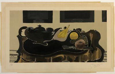 Georges Braque, 'Theiere et Fruits', ca. 1950