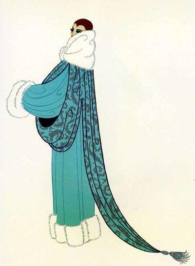 Erté (Romain de Tirtoff), 'Elegance', 1975