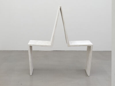 Inge Mahn, 'An einander gelehnt (Leaning against each other)', 1992