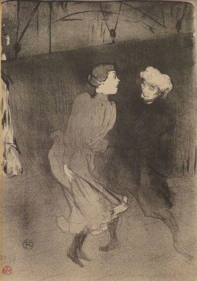 Henri de Toulouse-Lautrec, 'Répétition générale aux Folies-Bergère', 1893